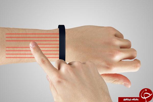 گوشی هوشمند نامرئی روی مچ رویایی ترین اختراع سامسونگ
