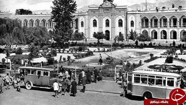 تصاویر توستالژیک از تهران قدیم