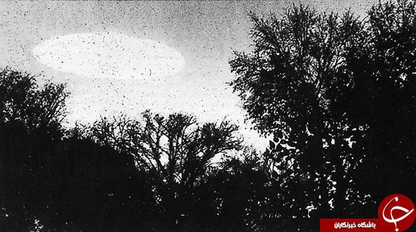 انتشار تصاویری دیده نشده از بشقاب پرندههای عجیب بوسیله سیا