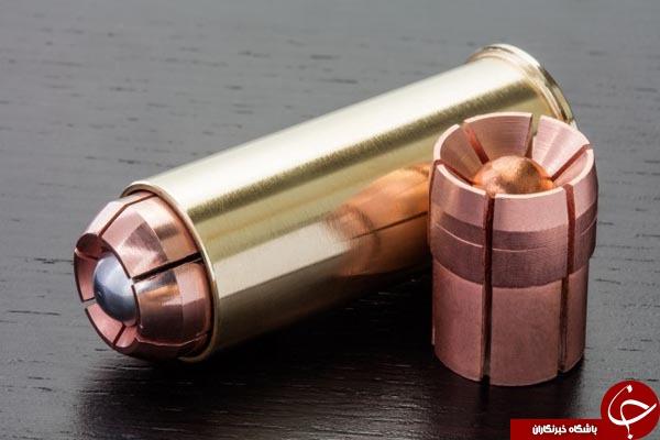 خطرناک ترین گلوله جهان! +تصاویر