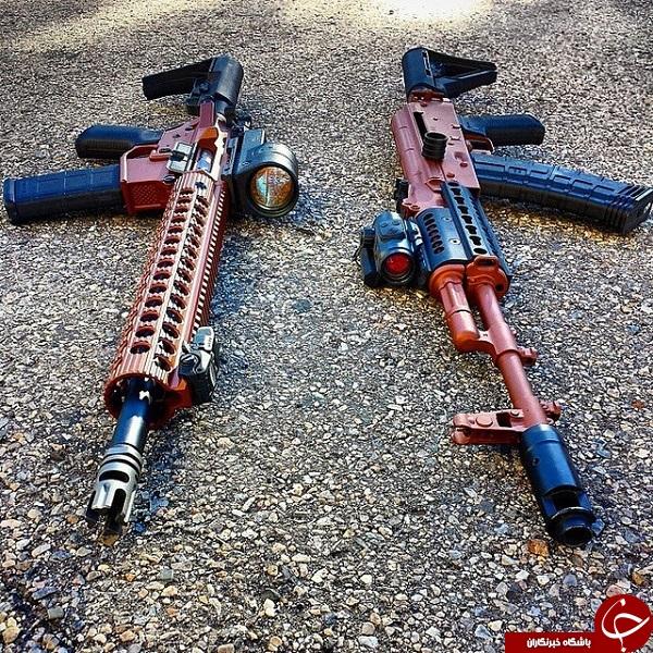 لوکس و نابودگر، سلاح هایی که لرزه بر اندام می اندازند +15 عکس