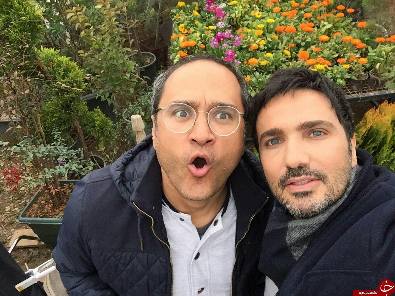 وین رونی و پسر یک روزه اش/رضا صادقی و خانواده اش/
