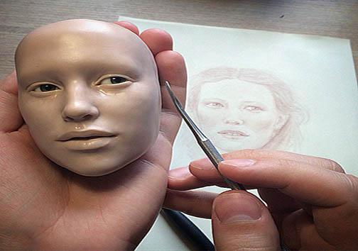 عروسکهای فوقالعاده طبیعی ساخت هنرمند روسی