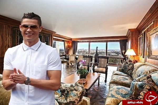 رونالدو هتل دار شد +تصاویر