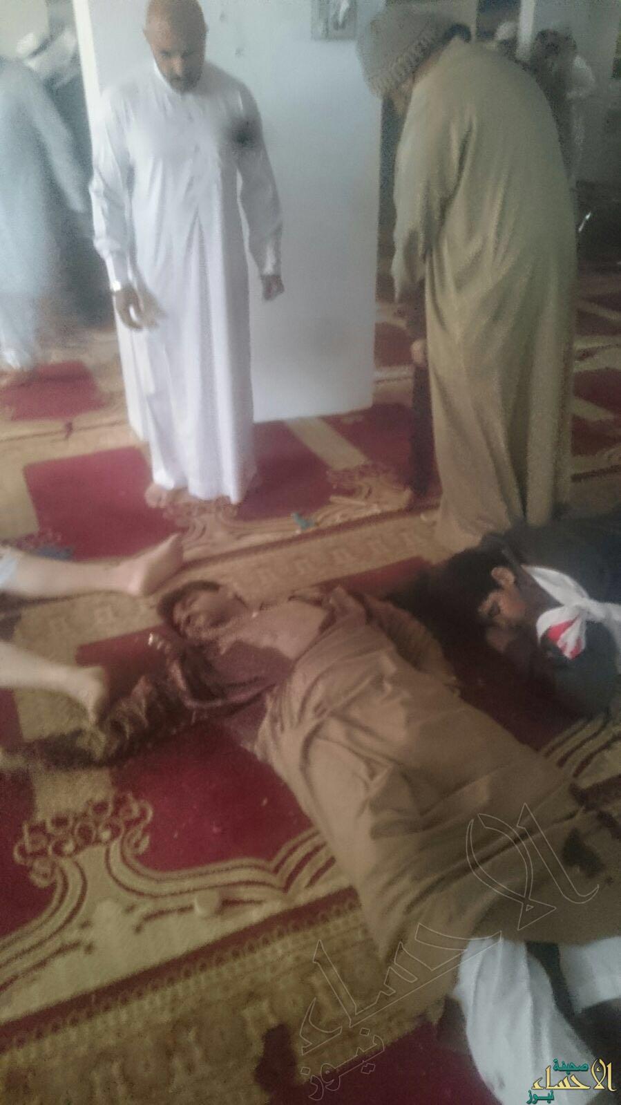 انفجار در مسجد شیعیان عربستان/ دست کم 3 نفر شهید شدند+ تصاویر
