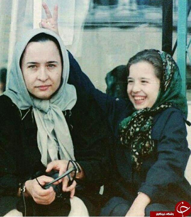 شیطنت مهراوه شریفی نیا در دوران کودکی +عکس
