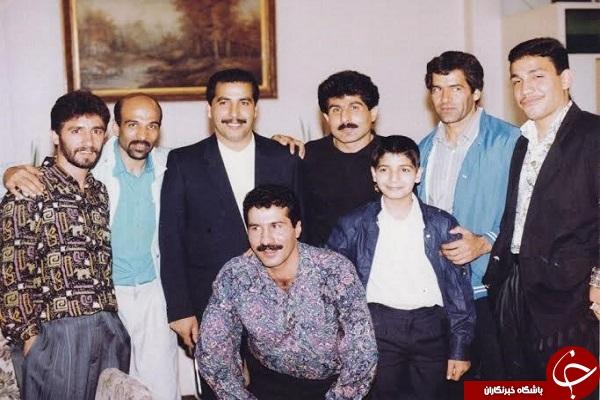 امیر قلعه نوعی و دوستانش در مهمانی +عکس