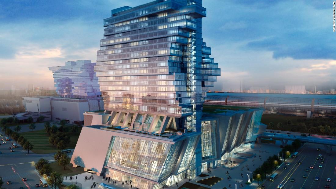 معماریهای زیبا وعجیب ساختمانهای چینی/ ساختن ساختمانها مدرن ونامتعارف در چین ممنوع میشود.