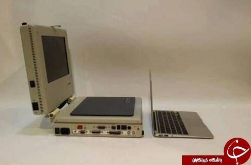 لپ تاپ 25 سال پیش این شکلی بود +عکس