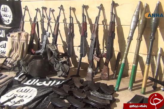 تصرف انبار مهمات وحشتناک داعش + تصاویر