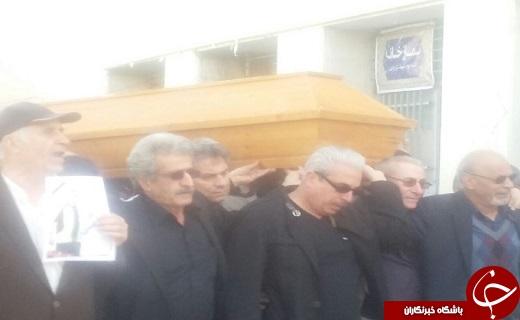 تشییع پیکر مرحوم دارستانی در ورزشگاه شهید شیرودی