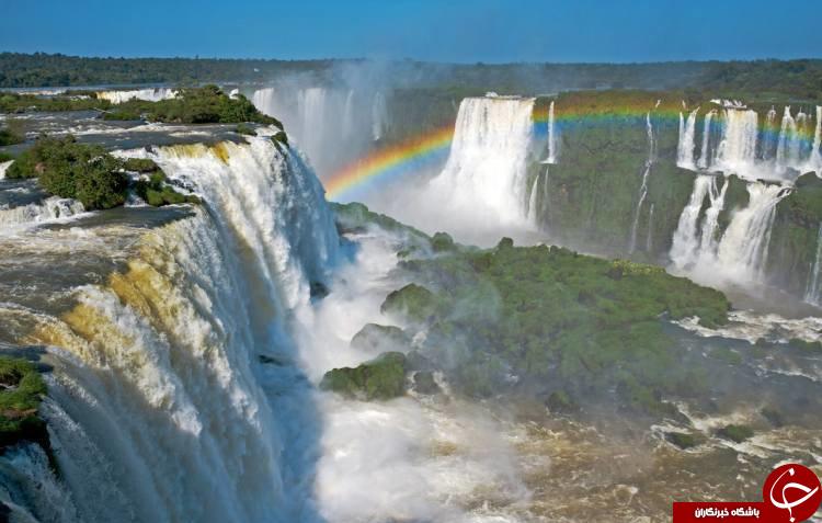 با مشهورترین و زیباترین آبشارهای جهان آشنا شوید + تصاویر