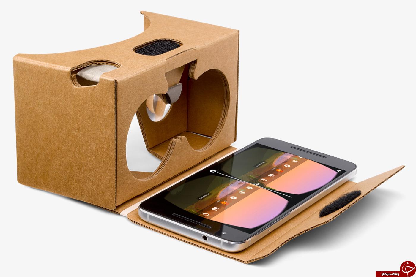 ورود عینک های مقوایی واقعیت مجازی به گوگل استور + عکس