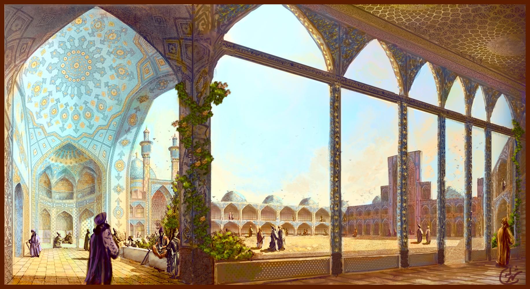 به اصفهان سفر کنید