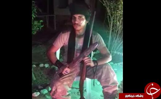 دستگیری چنگیز جنگلی در خواب ناز + فیلم و تصویر