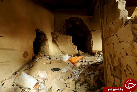 مخفیگاه های ترسناک زیرزمینی داعش در سوریه و عراق+ تصاویر