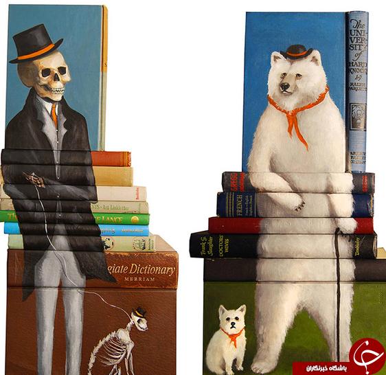 کتابهای زنده +تصاویر