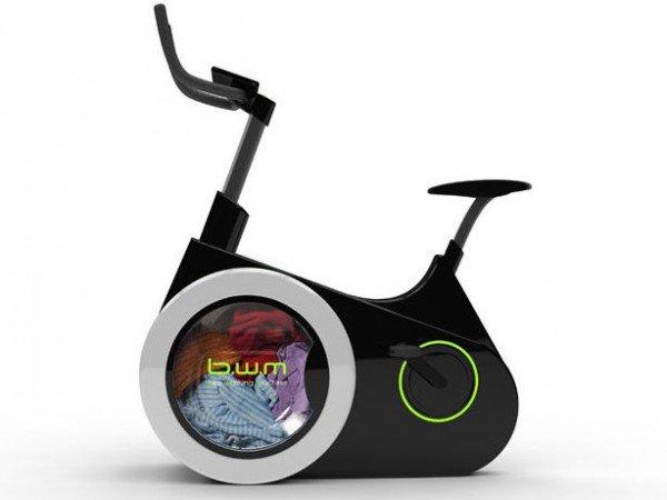 این دوچرخه علاوه بر ورزش لباسهایتان را میشوید+تصاویر