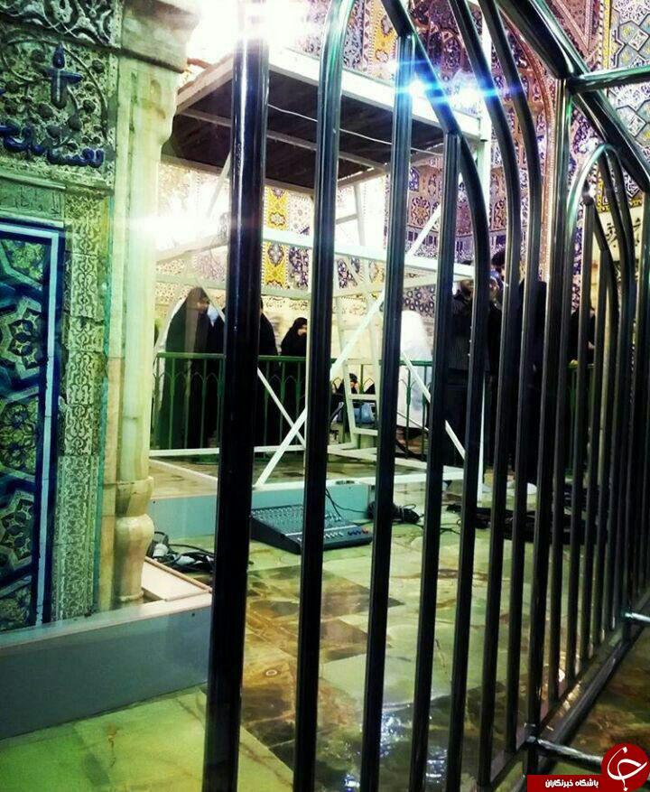 آرامگاه ابدی آیت الله واعظ طبسی در مجاورت بارگاه رضوی+ عکس