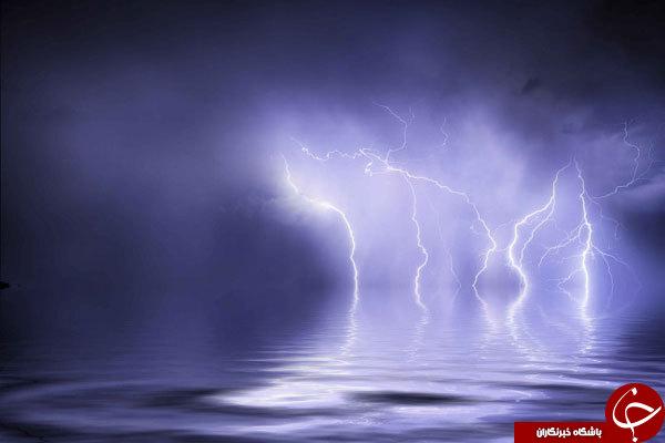 زیباترین تصاویر از رعد وبرق درآمریکا
