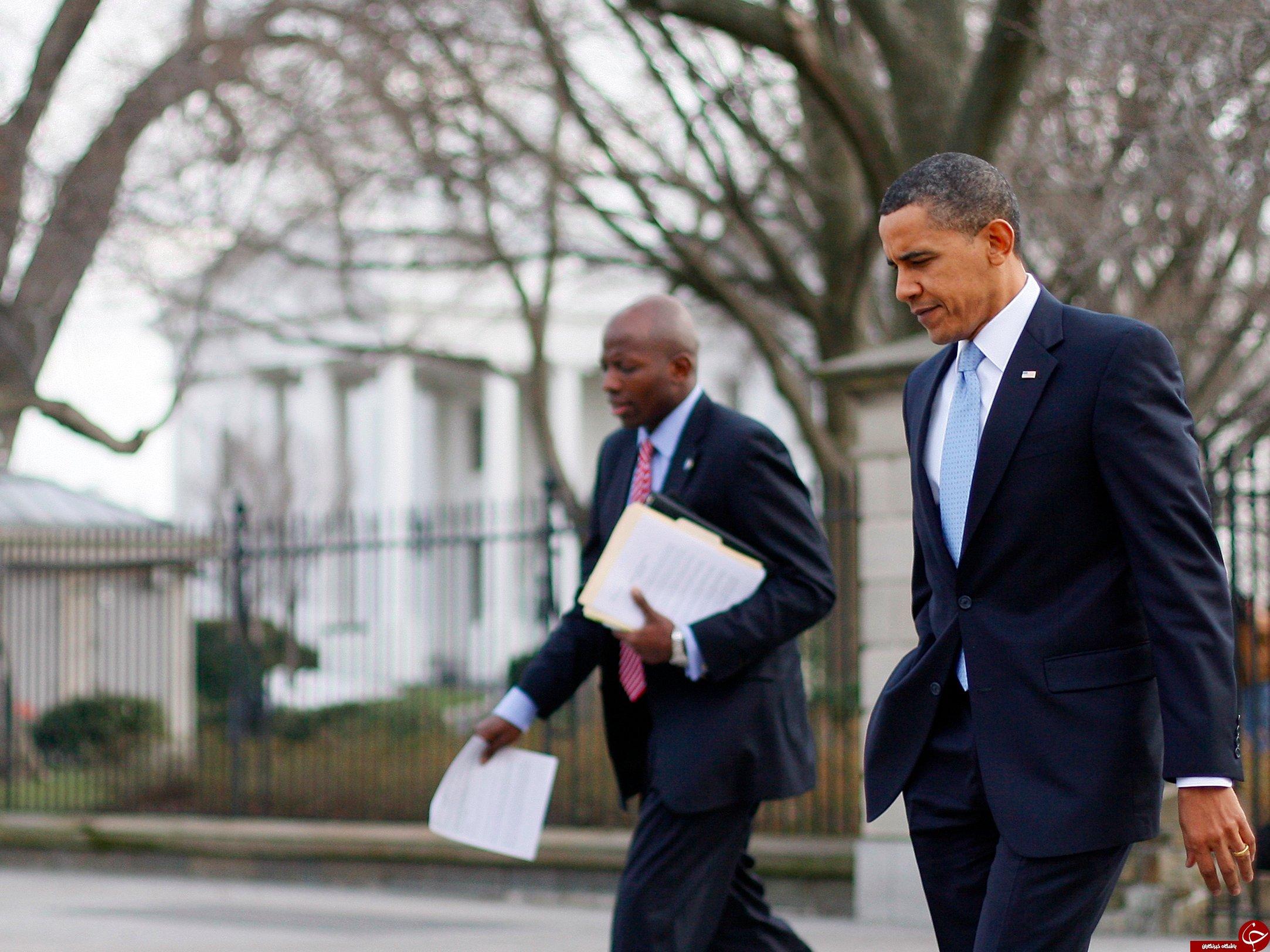 اوباما پیش از ریاست جمهوری چه می پوشید؟/اوباما: تا قبل از ورود به کاخ سفید فقط 4 کُت داشتم! +تصاویر