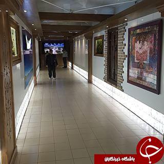 متفاوت ترین پل عابر پیاده ایران+عکس