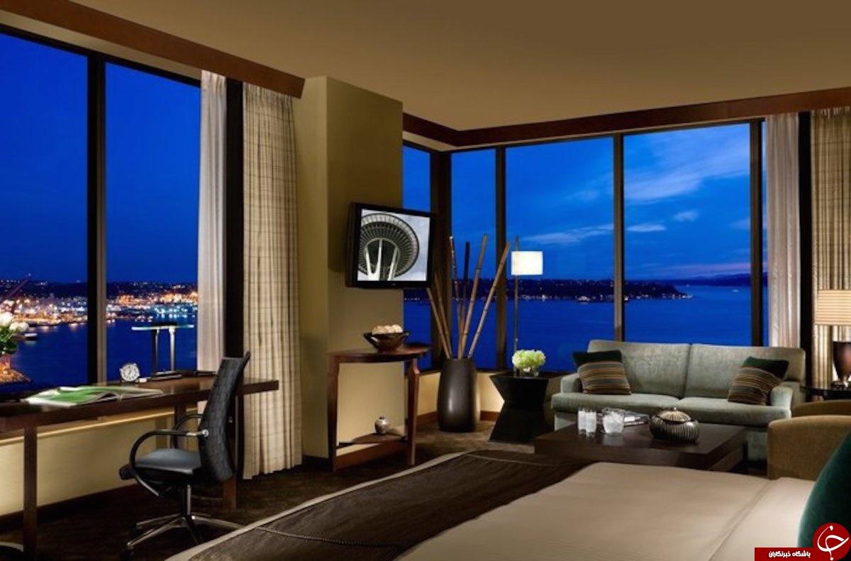مدرن ترین هتل های جهان +تصاویر