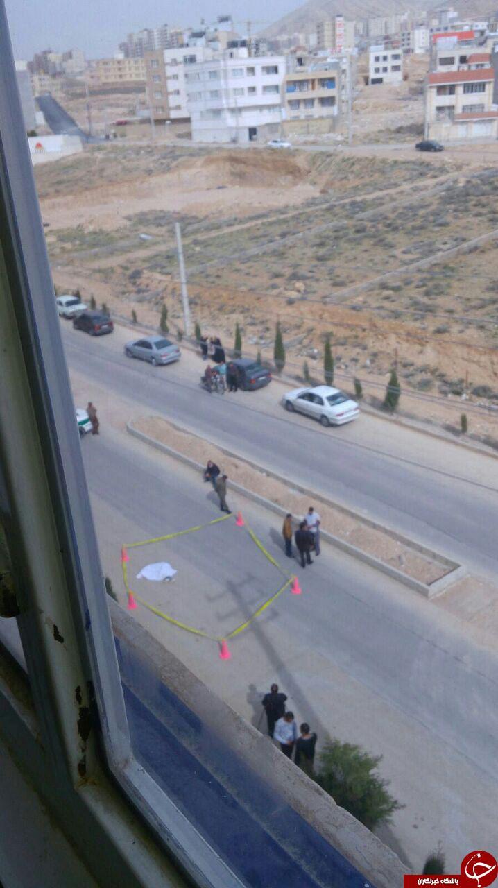 قتل دختر جوان با گلوله + تصاویر