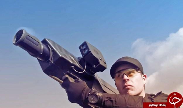 حمله بازوکاهای هوشمند به پهبادها + تصاویر و فیلم