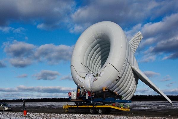 // در حال کار // ژنراتورهای هوابرد برای تولید انرژی پاک + تصاویر