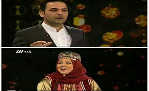 تبریک ابهامآمیز علیخانی به مینا ساداتی/ پاسخ رامینفر به سوال عجیب مجری «سه ستاره»