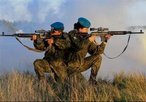عکس/ زنان مرگبار ارتش روسیه