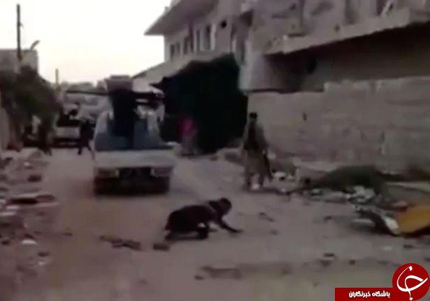 سوتی خندهدار داعشیِ بیعرضه هنگام شلیک+تصاویر
