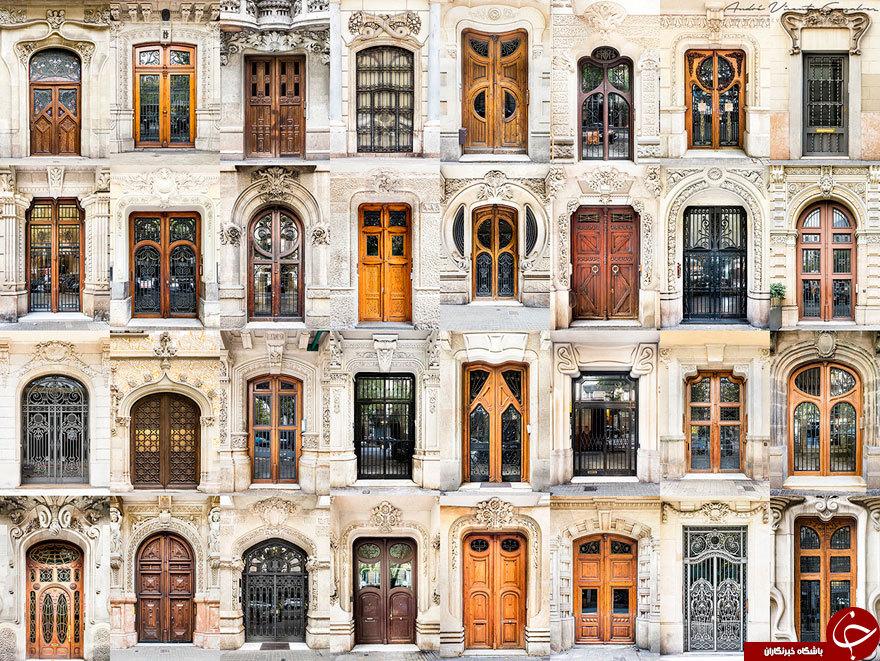 سفر عکاس به دوره دنیا و شکار درب و پنجره های زیبا