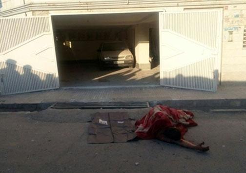 عکس/ حادثه دلخراش در آستانه چهارشنبه سوری(18+)
