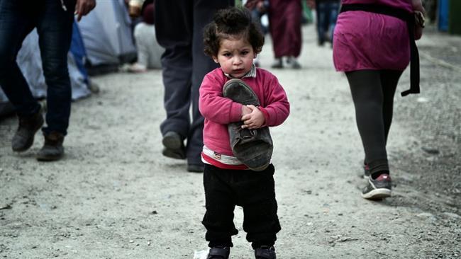 درد و رنج پناهجویان در مرز مقدونیه – یونان+ تصاویر