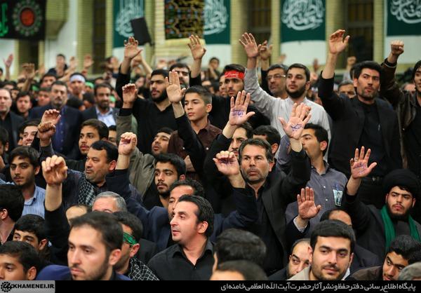 برگزاری دومین شب مراسم عزاداری حضرت فاطمه زهرا (س) با حضور رهبر معظم انقلاب + تصاویر