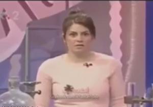 مرگ ناگهانی مجری در برنامه زنده + فیلم