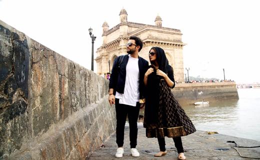 همسر بنیامین جلوی دوربین «سلام بمبئی» رفت + عکس