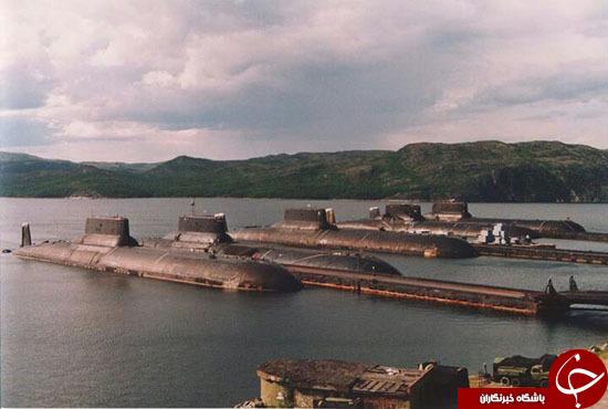 خلع سلاح بزرگترین زیردریایی اتمی جهان از جانب روسیه +عکس