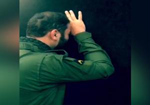 خلوت ابوحر عضو ایرانی گردانهای امام علی در سامرا + فیلم