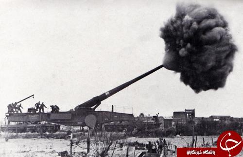 غول آهنی بزرگترین جنگ افزار تاریخ +تصاویر