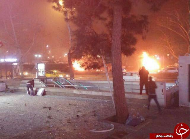 انفجاری مهیب آنکارا را لرزاند/27 کشته و 75 زخمی تا این لحظه + فیلم و تصاویر