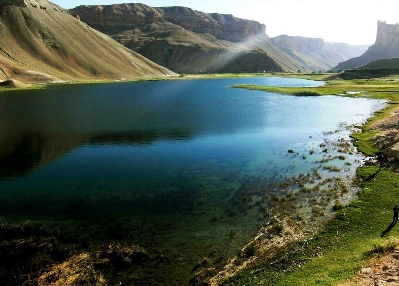 پارک ملی بند امیر؛ بهشتی روی زمین در بامیان افغانستان + تصاویر