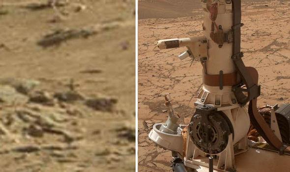 آثار به صلیب کشیده شدن در مریخ+تصاویر