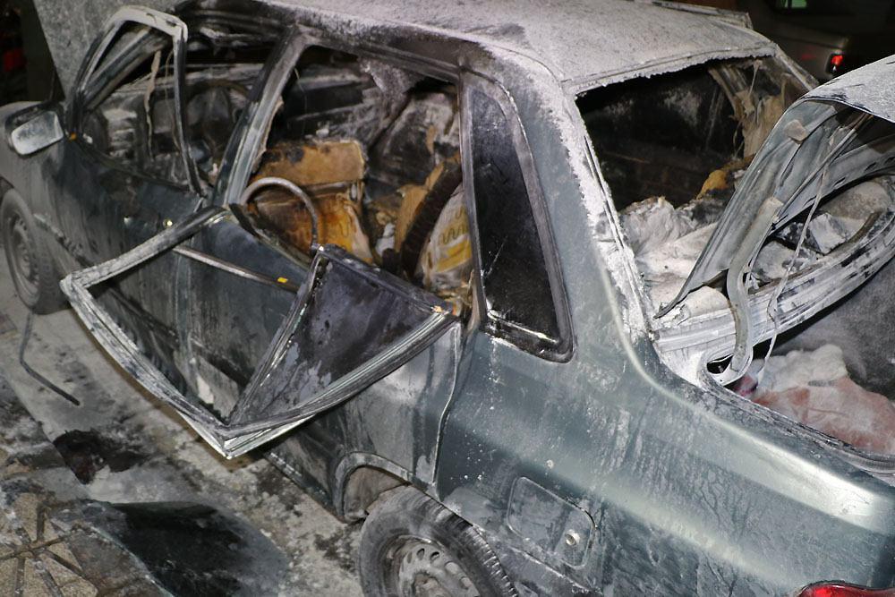 انفجار پراید در آستانه چهارشنبه سوری 94 + تصویر