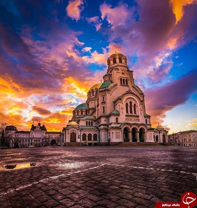 زیباترین ورویایی ترین کلیسای دنیا+عکس