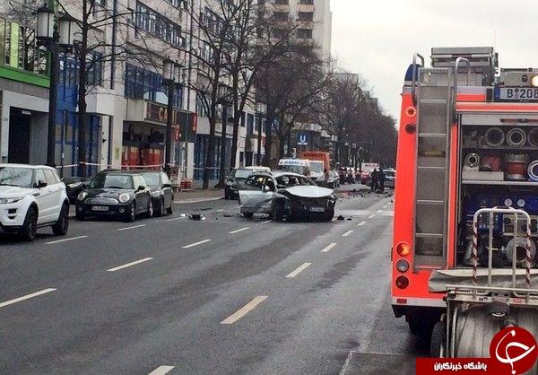 انفجار در برلین/ دستکم یک کشته