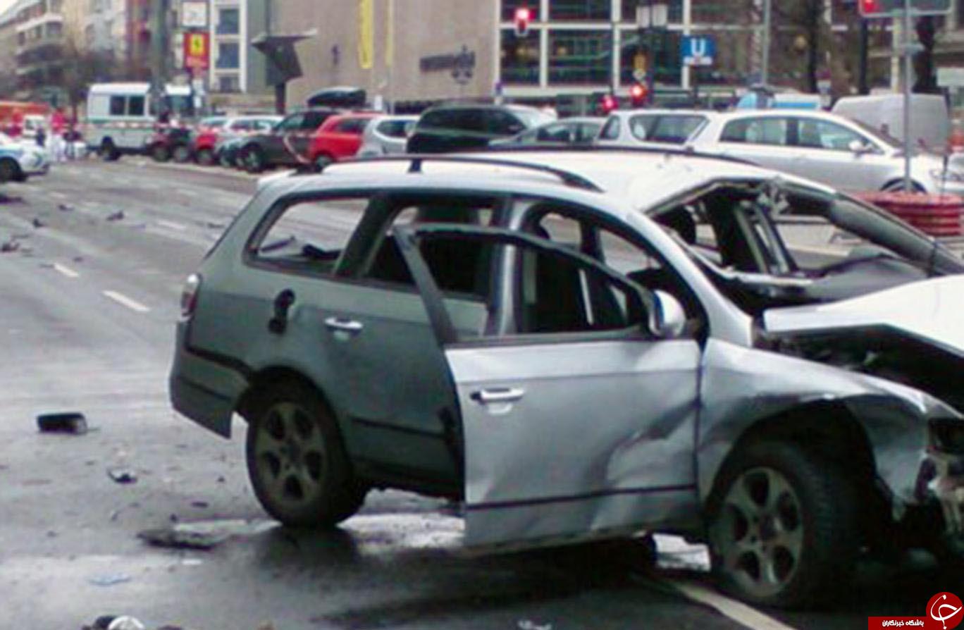 انفجار در برلین/یک کشته تاکنون+ تصویر