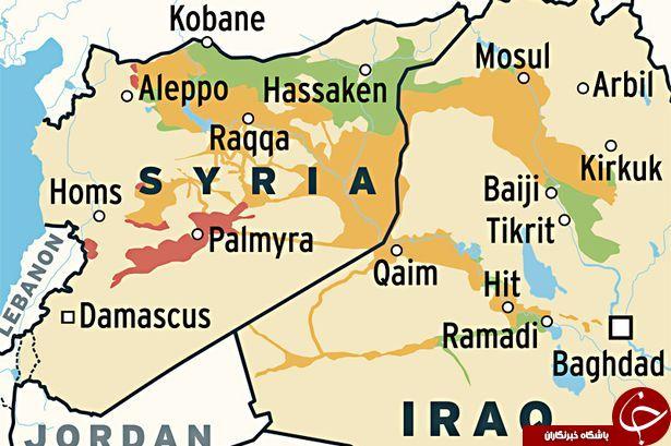 داعش یک پنجم اراضی خود را از دست داد+ نقشه